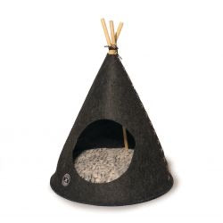Danish Design Pet Teepee Grey