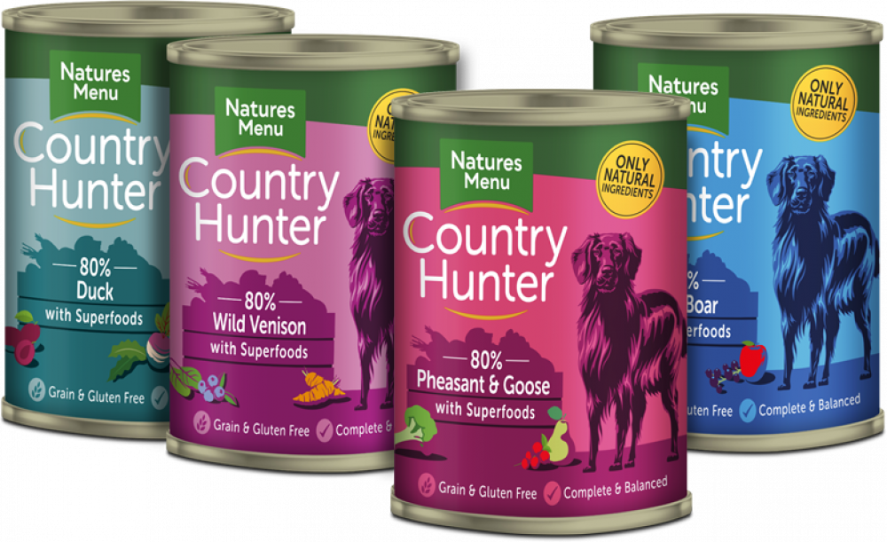 Natures Menu Country Hunter Game Meat Selection Wet Dog Food