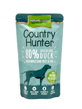 Natures Menu Country Hunter Succulent Duck Dog Pouch 150g