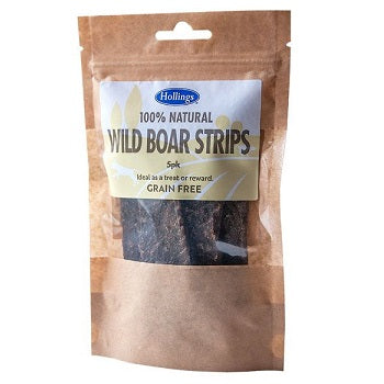 Holling's 100% Natural Wild Boar Strips