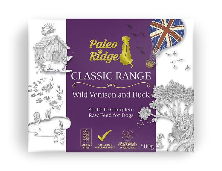 Paleo Ridge Classic Wild Venison and Duck (500g)