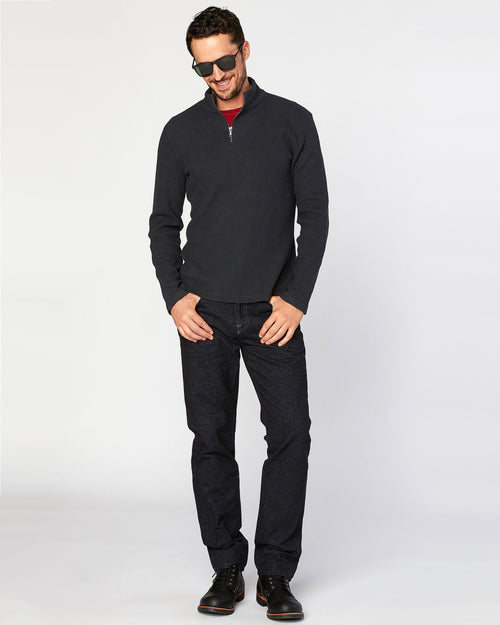 No. 11 Classic Fit Denim Fleece Dark Flex