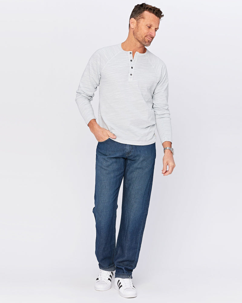 Waterman Relaxed Fit Deep Marine Linen