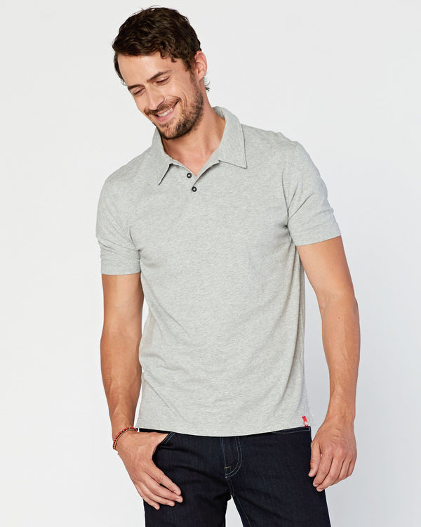 SAMPLE SALE Agave Supima Polo