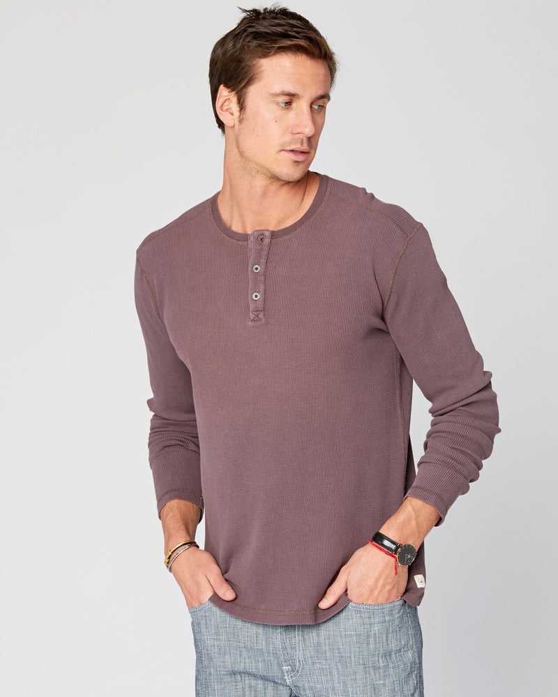 Shoreline Henley Long Sleeve Thermal