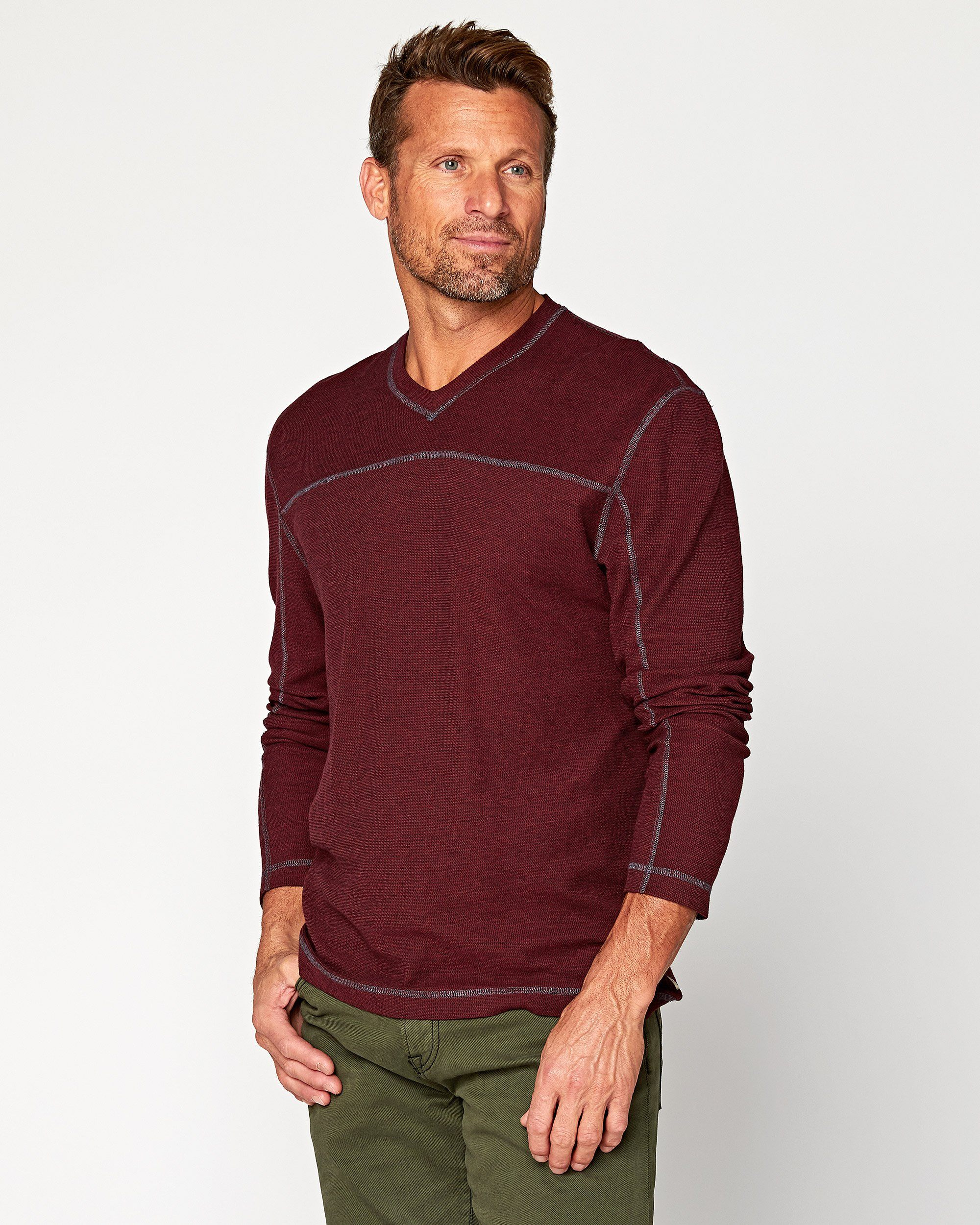 Torrey Long Sleeve V-Neck