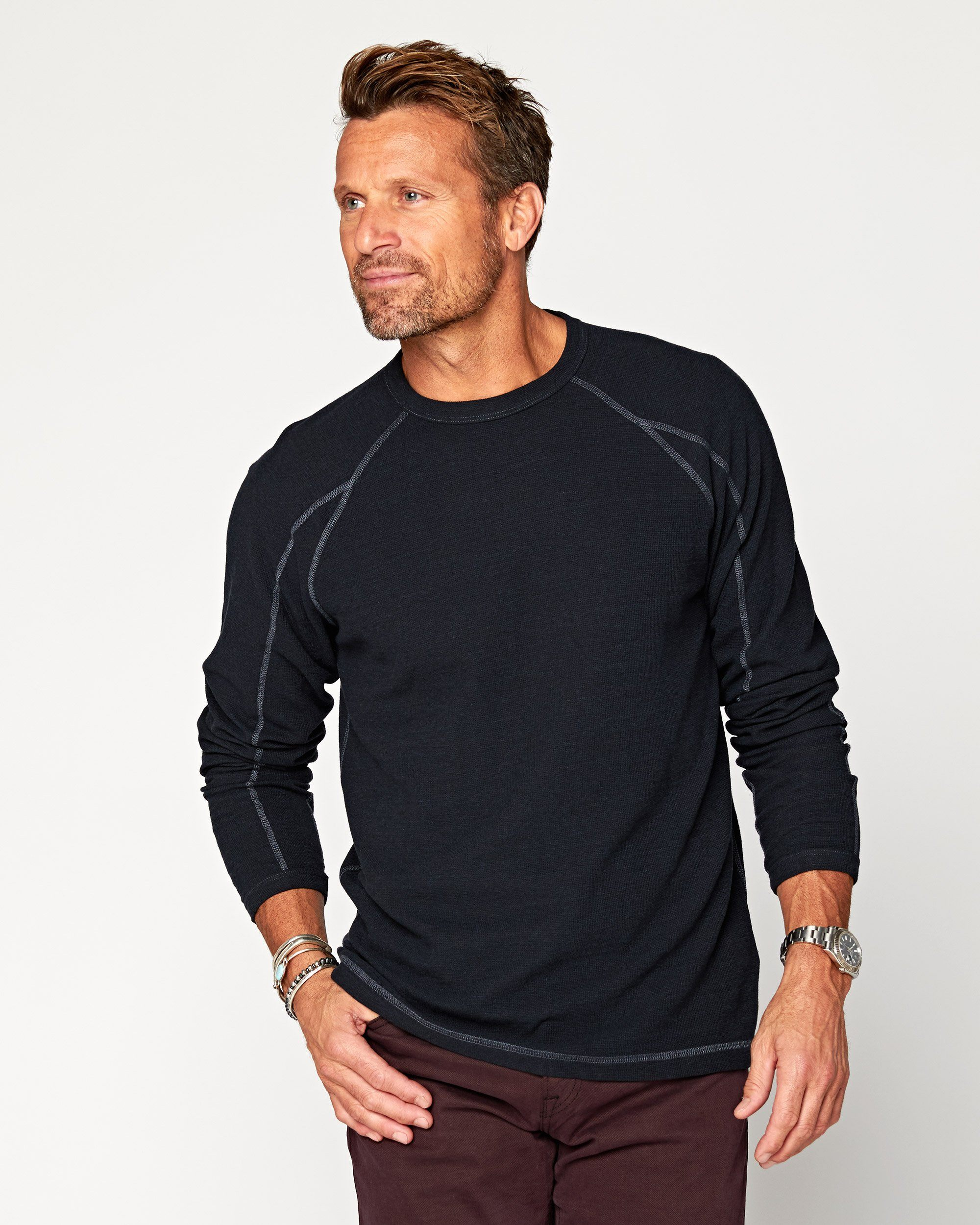 Halyard Long Sleeve Thermal Crew