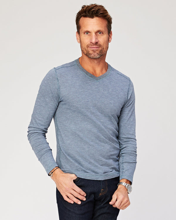 Kentwood Long Sleeve V Neck