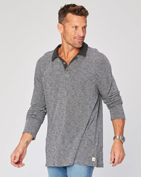 Isleton Long Sleeve Polo