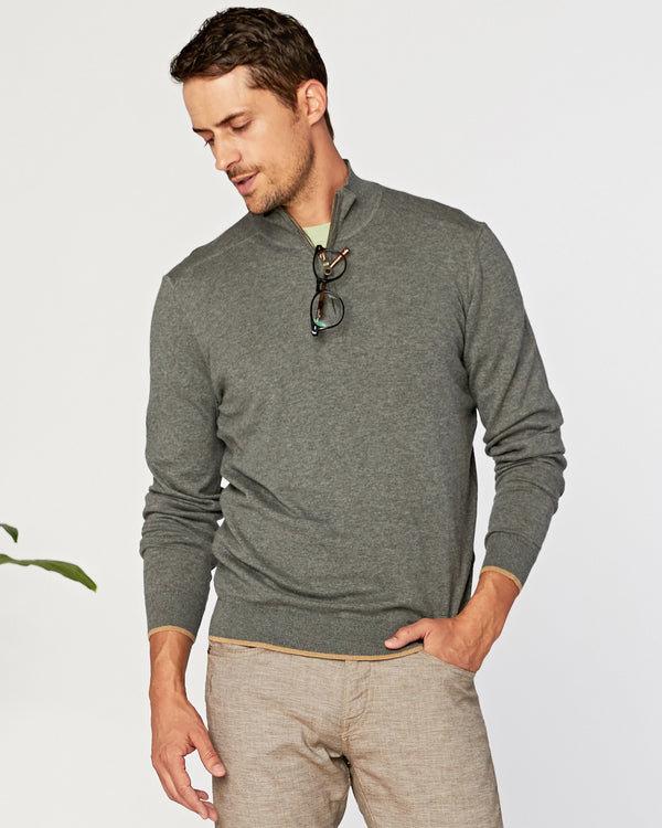 Latitude Supima 1/4 Zip