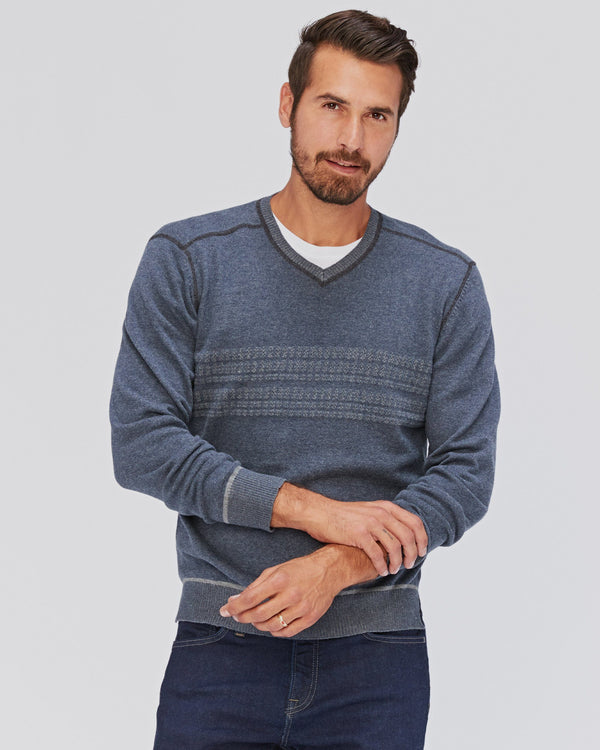 Gallant Double-Knit Vee