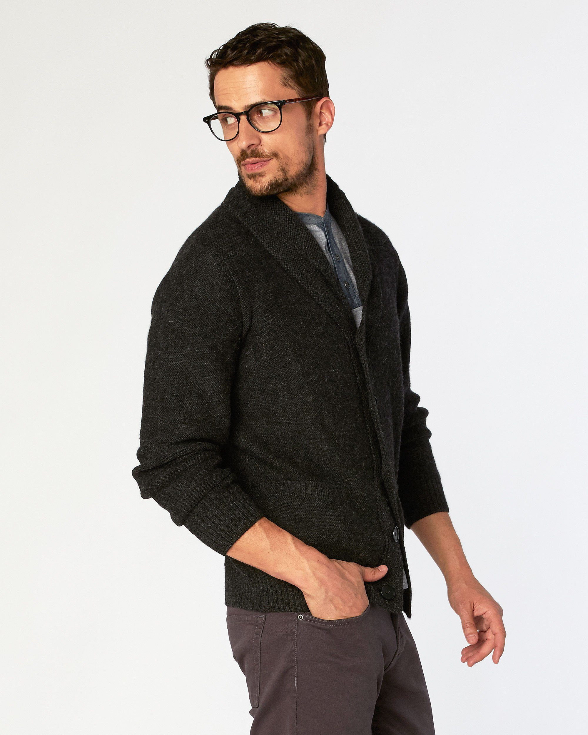 Chicama Long Sleeve Shawl Cardigan