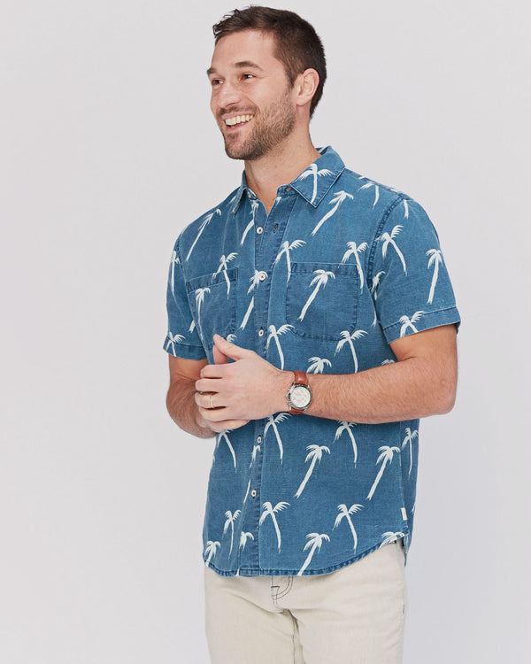 Coachella Palm Short Sleeve