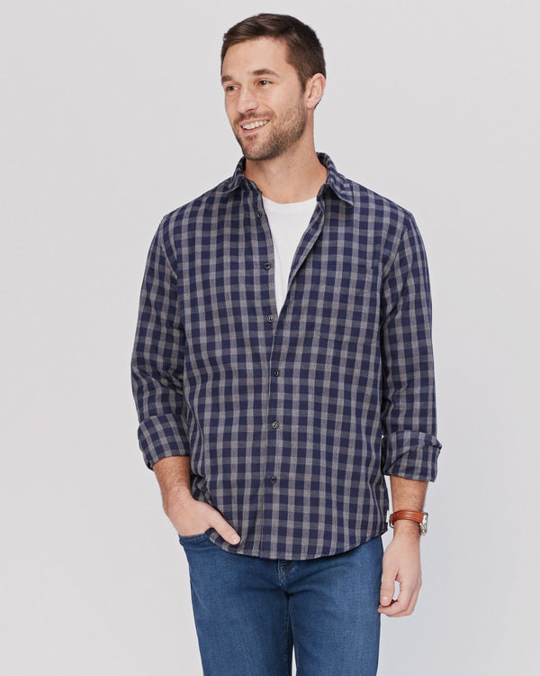 Hartley Plaid Button Up