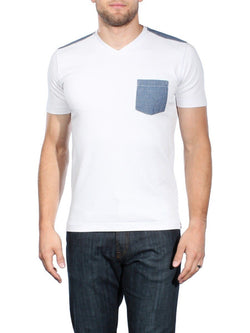 Klickitat Vee Neck Pocket Tee