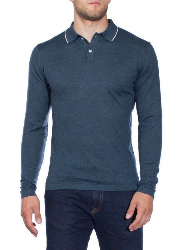 Orin Long Sleeved Polo Shirt