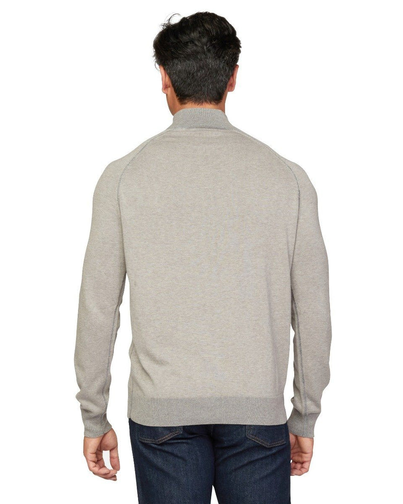 Lundy Zip Mock Neck Sweater