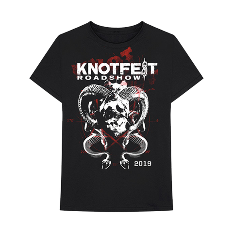 Knotfest Horns and Snakes Tee