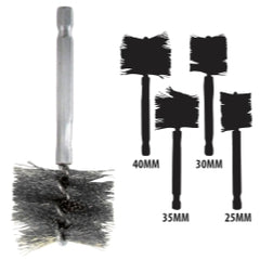 Innovative Products Of America - 25-40 MM Stainless Steel Brush Kit − South Jersey Tools