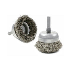 Brush Research - 1-3/4 Steel Cup Brush − South Jersey Tools