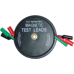 Kastar - 3 x 10' Magnetic Retractable Test Leads − South Jersey Tools