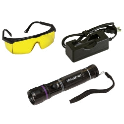 Tracer Products - OPTI-LUX™ 400 True UV LED Rechargeable Leak Detection Flashlight − South Jersey Tools