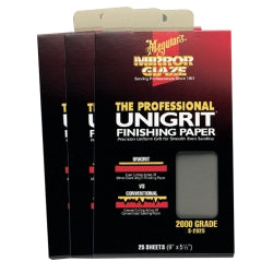 Meguiars - Unigrit® Finishing Paper - 2000 Grade − South Jersey Tools
