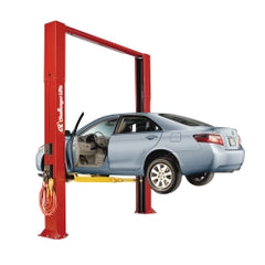 Challenger Lifts - 10,000 lb. Capacity Versymmetric® Two Post Lift − South Jersey Tools