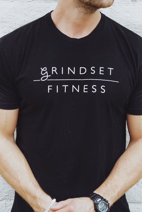 Men's Grindset Fitness Perfect T - Black