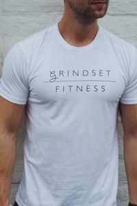 Men's Grindset Fitness Perfect T - White