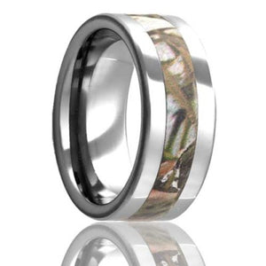Tungsten Carbide Wedding Band TU101Cam1