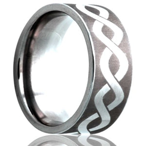 Tungsten Carbide Wedding Band TU101-N