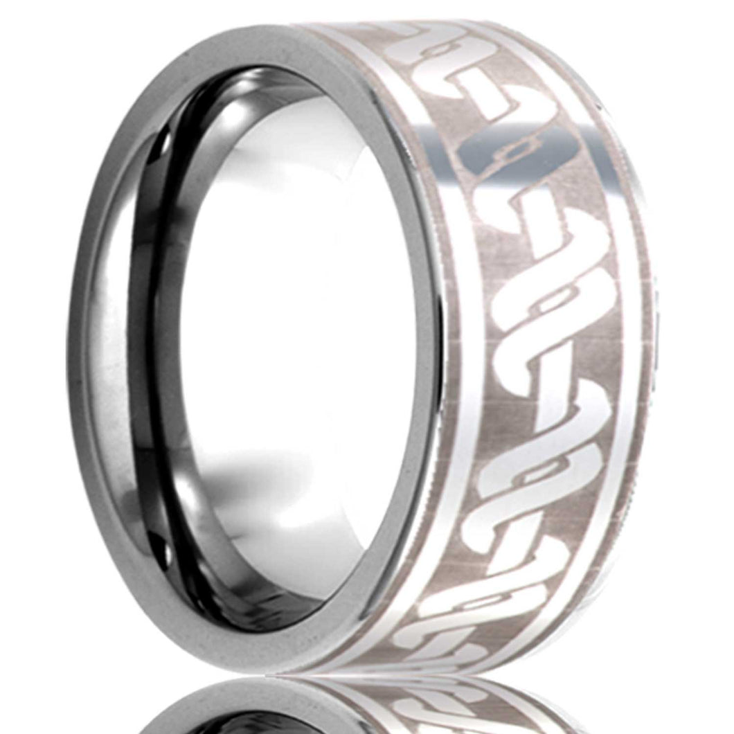 Tungsten Carbide Wedding Band TU101-X