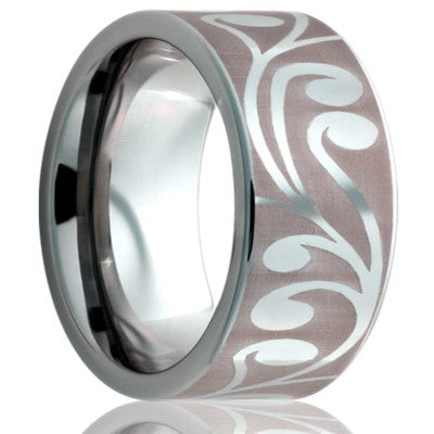 Tungsten Carbide Wedding Band TU101-Z