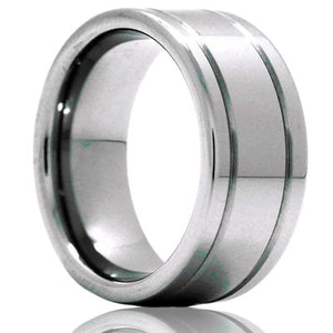 Tungsten Carbide Wedding Band TU105