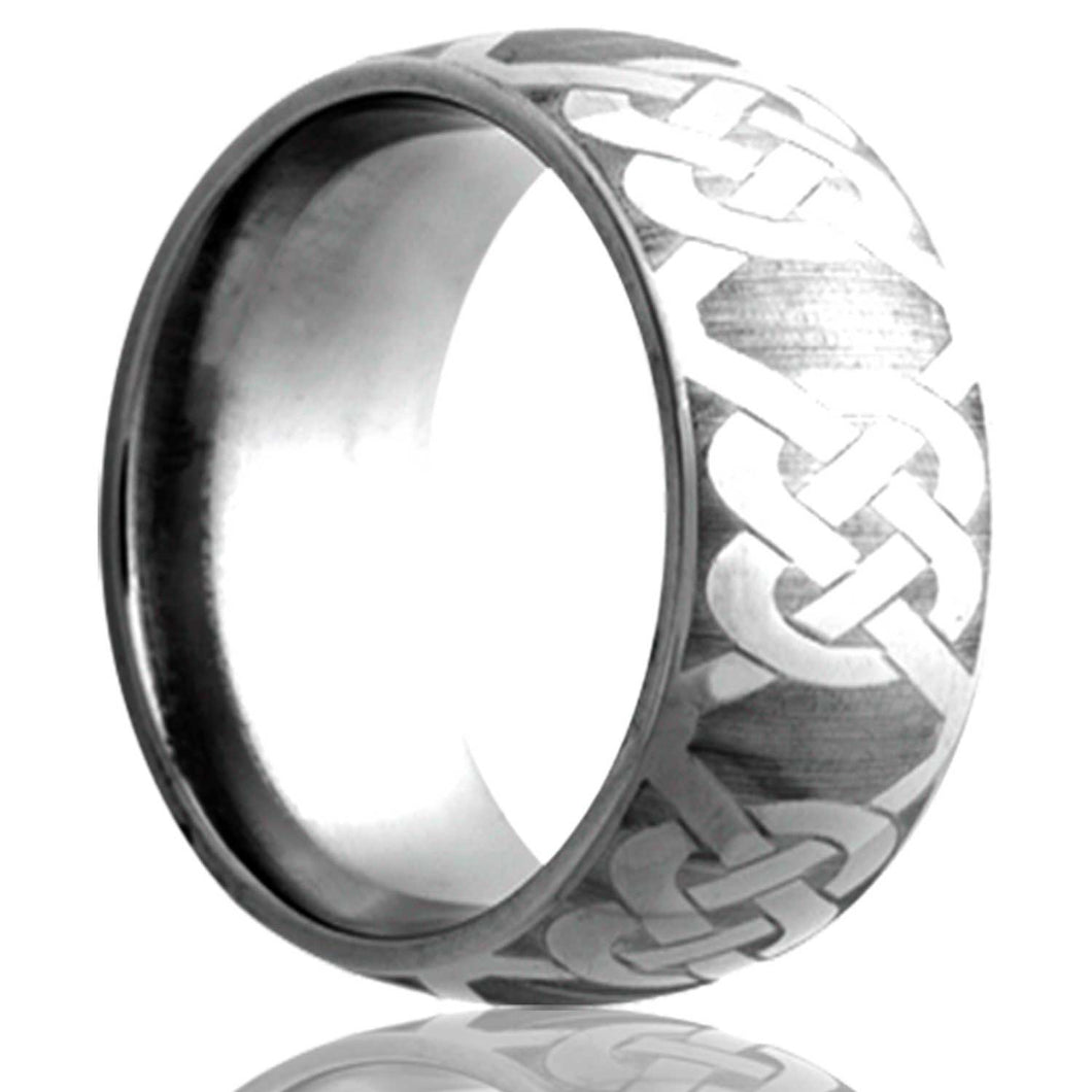 Tungsten Carbide Wedding Band TU111-H