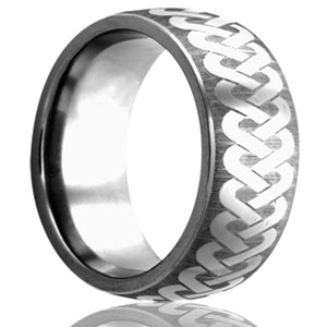 Tungsten Carbide Wedding Band TU111-I