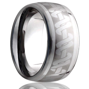 Tungsten Carbide Wedding Band TU111-X