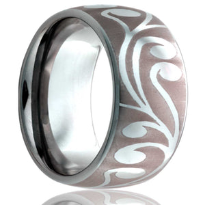 Tungsten Carbide Wedding Band TU111-Z