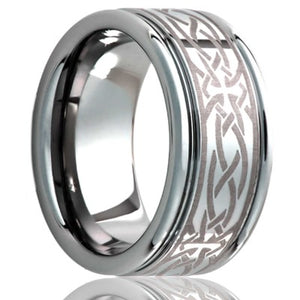 Tungsten Carbide WeddingBand TU127-T