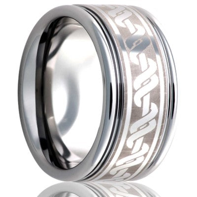 Tungsten Carbide Wedding Band TU127-X