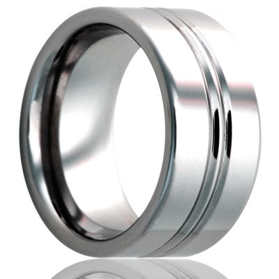 Tungsten Carbide Wedding Band TU146