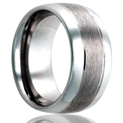 Tungsten Carbide Wedding Band TU185