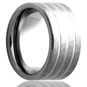 Tungsten Carbide Wedding Band TU186