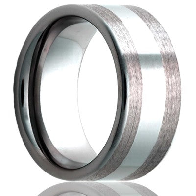 Tungsten Carbide Wedding Band TU188