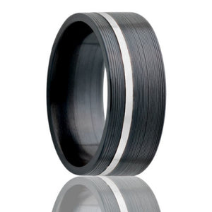 Zirconium Wedding Band Z402SS