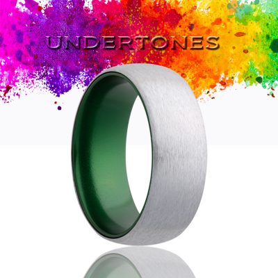 Dome Cobalt Wedding Band-CA133GREEN