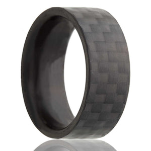 Carbon Fiber Wedding Band-CF101