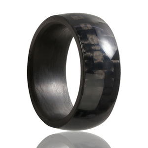 Carbon Fiber Wedding Band  CF-111