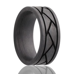Carbon Fiber Wedding Band CF901-L2